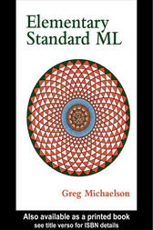 Elementary Standard ML by G Michaelson