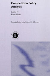 Competition Policy Analysis by Einar Hope