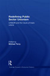 Redefining Public Sector Unionism by Mike Terry