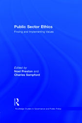 Public Sector Ethics by Noel Preston