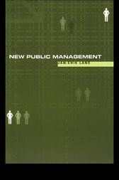 New Public Management by Jan-Erik Lane