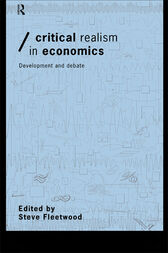 Critical Realism in Economics by Steve Fleetwood