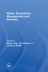 Water: Economics, Management and Demand by T. Franks