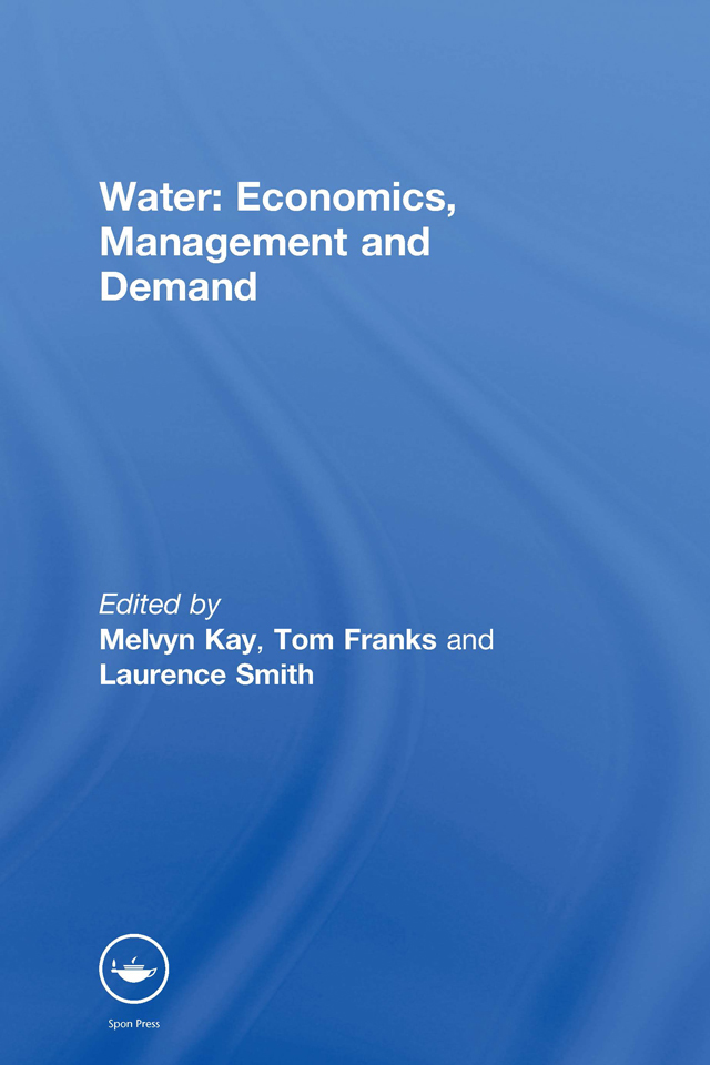 Download Ebook Water: Economics, Management and Demand by T. Franks Pdf