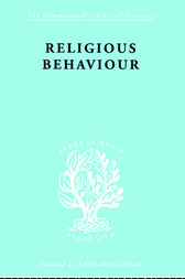 Religious Behaviour by Michael Argyle