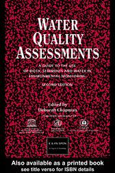 Water Quality Assessments by Deborah V Chapman