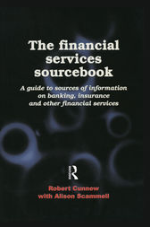 The Financial Services Sourcebook by Robert Cunnew