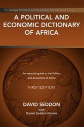 A Political and Economic Dictionary of Africa by David Seddon