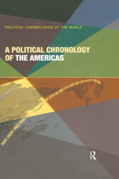 A Political Chronology of the Americas by Europa Publications