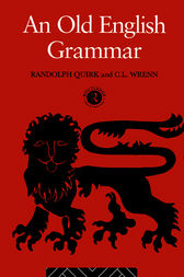 An Old English Grammar by Randolph Quirk
