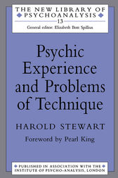 Psychic Experience and Problems of Technique by Harold Stewart