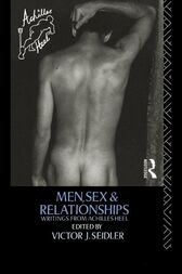 Men, Sex and Relationships by Victor J. Seidler