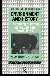 Environment and History by William Beinart