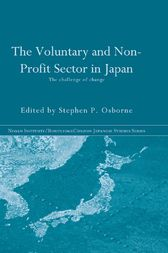 The Voluntary and Non-Profit Sector in Japan by Stephen P. Osborne