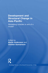 Development and Structural Change in Asia-Pacific by Martin Andersson
