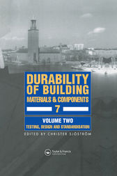 Durability of Building Materials and Components 7 by Christer Sjostrom