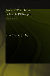 Books of Definition in Islamic Philosophy by Kiki Kennedy-Day