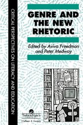 Genre In The New Rhetoric by Aviva Freedman