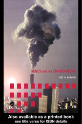 Genes and the Environment by Roy H. Burdon