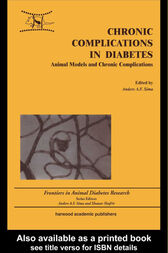 Chronic Complications in Diabetes by Anders A F Sima