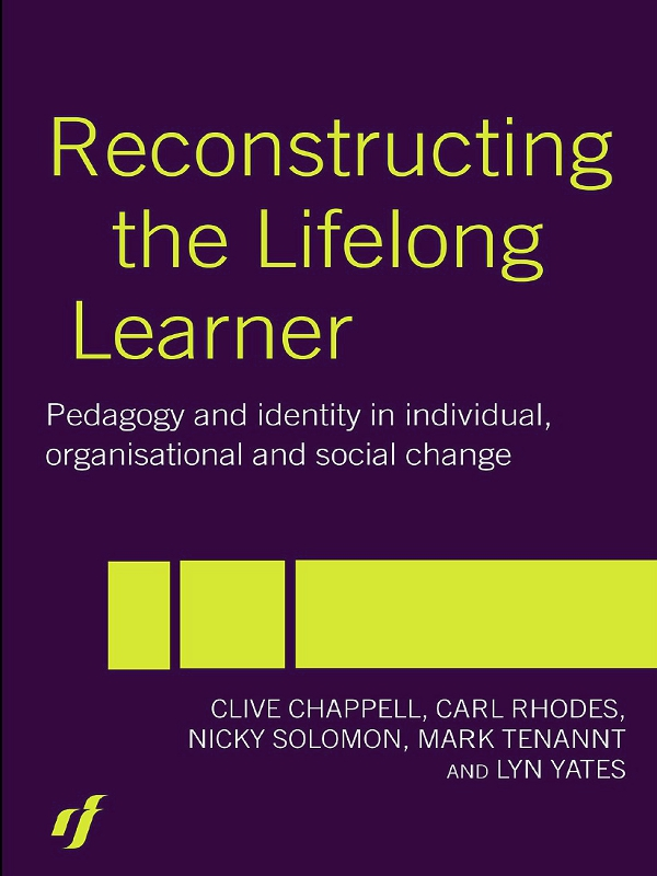 Download Ebook Reconstructing the Lifelong Learner by Clive Chappell Pdf