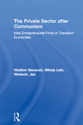 The Private Sector after Communism by Vladimir Banacek