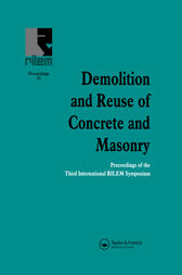 Demolition and Reuse of Concrete and Masonry by E.K. Lauritzen