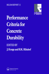 Performance Criteria for Concrete Durability by H. Hilsdorf