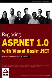 Beginning ASP.NET 1.0 with Visual Basic.NET by Chris Goode