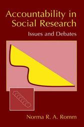 Accountability in Social Research by Norma Romm