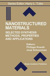 Nanostructured Materials by Philippe Knauth