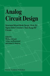 Analog Circuit Design by Michiel Steyaert