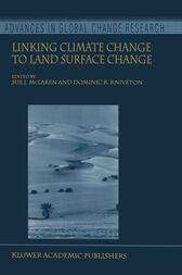 Linking Climate Change to Land Surface Change by S.J. McLaren