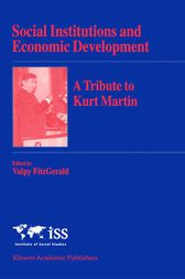 Social Institutions and Economic Development by Valpy FitzGerald