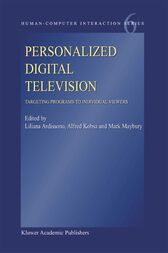 Personalized Digital Television by Liliana Ardissono