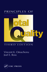 Principles of Total Quality, Third Edition by Vincent K. Omachonu