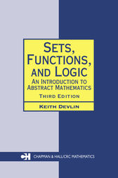 Sets, Functions, and Logic by Keith Devlin