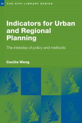Indicators for Urban and Regional Planning by Cecilia Wong