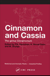 Cinnamon and Cassia by P. N. Ravindran