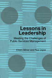 Lessons in Leadership by Eileen Milner
