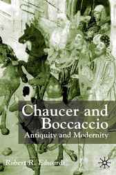 Chaucer and Boccaccio by Robert R. Edwards