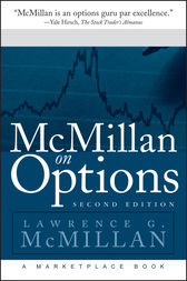 McMillan on Options by Lawrence G. McMillan