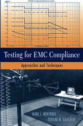 Testing for EMC Compliance by Mark I. Montrose