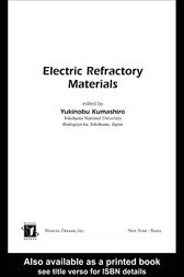 Electric Refractory Materials by Yukinobu Kumashiro