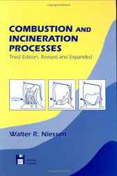 Combustion and Incineration Processes by Walter R. Niessen