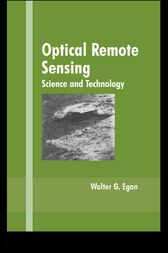Optical Remote Sensing by Walter G. Egan