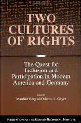 Two Cultures of Rights by Manfred Berg