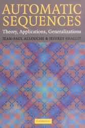 Automatic Sequences by Jean-Paul Allouche