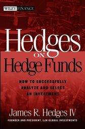 Hedges on Hedge Funds by James R. Hedges