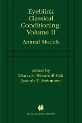 Eyeblink Classical Conditioning Volume 2 by Diana S. Woodruff-Pak